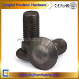 Iron/Steel Round Head Square Neck Bolt Coach Bolt with Plain M16
