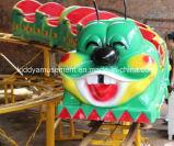 High Quality Cheapest Amusement Park Steel Fruit Worm Roller Coaster