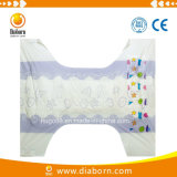 Dry Surface Baby Adult Diaper with Colorful Film