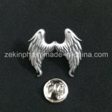 Customized 3D Wholesale Angel Wing Lapel Pin Badge