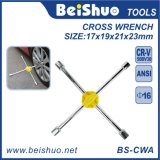 Cross Rim Socket Wrench with Chrome Plated