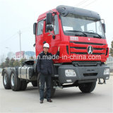 North Benz 6X4 Tractor Truck with Cargo Semi Trailer