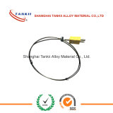 Cable thermocouple armoured chrome alumel thermocouple wire