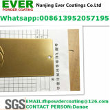 Medium Bronze Color Powder Coating Pure Polyester Powder Paint