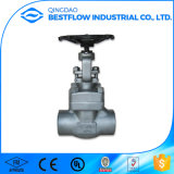 High Quality Handle Lever Carbon Steel Flanged Gate Valve Dn100