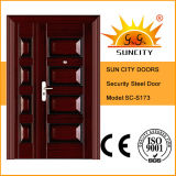 China Classic Armored Swing Iron Door (SC-S173)