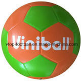 Neon Color High Quality Rubber Football Gift