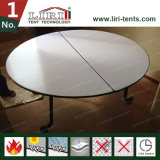 1.8m 10 Persons Folding Round Table for Banquet Event