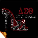 Delta Sigma Theta Rhinestone Transfer for Shirts