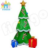 Christmas Inflatable Advertising Crutch Trees for Outdoor Indoor Event
