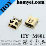 High Speed Micro USB Connector for Electric Accessories (HY-M801)