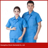 Custom Made Short Sleeve Work Wear for Summer (W222)