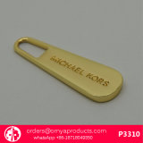 Handbag Brass Zipper Puller with Custom Logo Engraved