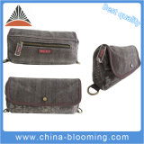 Women Washed Canvas Casual Carry Handle Hand Cosmetic Case Bag