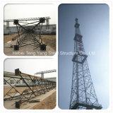 30m 4 Legged Communication Angle Steel Lattice Telecom Tower
