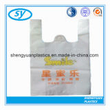 HDPE/LDPE Printing Plastic T-Shirt Shopping Bag with Handle
