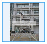 Safe Ce Passed Aluminum Scaffolding Tower for Decoration