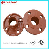 Conforms to ASTM A536, Grooved Flange Adapter Nipple 3′′