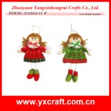Christmas Decoration (ZY11S111-1-2) Christmas Fabric Angel Product
