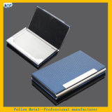 Stainless Steel Promotional Metal Leather Business Card Case Gift