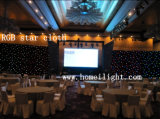 RGB Tricolor LED Star Cloth Star Curtain