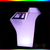 Mini Bar Counter Rechargeable Color Changing LED Furniture for Bar