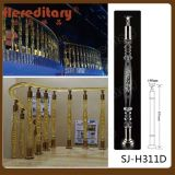 Clear Decorative Crystal Balustrade for Staircase (SJ-H311D)