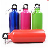 16oz Water Bottle Made of Aluminum Alloy with Carabiner