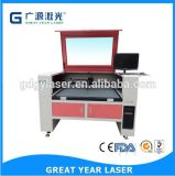 Hot Sale Garments Trademark Label Flag Located Positioned 80W CO2 Laser Cutting Machine Gy-1080c with Good Price
