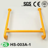 Toilet Bathroom Stainless Steel and Nylon Handicapped up-Folding Grab Bars
