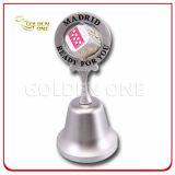 Customized Chrome Plated Metal Spinning Souvenir Gift Dinner Bell