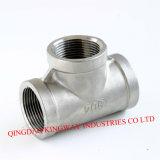 Stainless Steel Threaded Tee, 304/316.