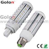 360 Degree LED Pl Lamp 9W 890lm Replace 18W PLC LED Corn Light, G24D, G24q, G23-2, Gx23-2, E27, E26, B22.100-277VAC G24 LED Pl Light