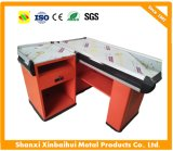 Customized Counter Table/Cashier Check out Counter for Supermarket /Retail