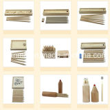 Natural Color Wood Pencil in Wooden Box Packing