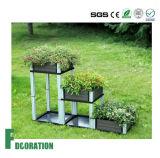 Backyard Patio WPC Flower Boxes, DIY WPC Planter