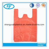Quality OEM Manufacture HDPE Biodegradable Plastic T Shirt Bags on Roll Manufacturer