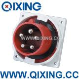 Qixing European Standard Male Panel Mounted Plug (QX3658)