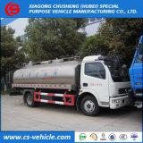 Dongfeng Insulated Milk Tanker Truck 8000L Milk Transport Tank Truck
