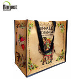 Cheap Price Wholesale Reusable RPET Tote Bag with Logo Printed