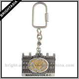 Zinc Alloy 3D Metal Key Chain
