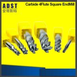 CNC Tungsten Steel Solid Carbide Square End Milling Cutter
