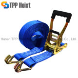 2t 8m 60mm Lashing Belts Ratchet Tie Down Straps for Cargo Control