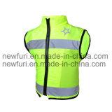 Ce En1150 Safety Jacket Security Clothes Reflective Vest for Children