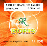 1.591 Polycarbonate Lens PC Bifocal Flat Top Hc Optical Lenses