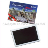 Customized Rectangular Iron Tin Plate Fridge Magnet with Printed Design
