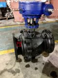 Carbon Steel Worm-Gear Turbine 2PC Flanged Trunnion Mounted Ball Valve