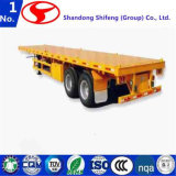 2 Axle Flatbed Semi Trailer for Sale