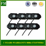 Mini Bluetooth RGB LED Rock Lights Multi-Function 4 Pods for Jeep Jk Wrangler