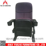 Purple Fabric Cover with Cup Holder Cinema Chair Yj1805p
